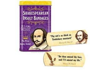 Archie McPhee - Shakespearean Insult Bandages