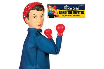 Archie McPhee - Rosie The Riveter Punching Puppet