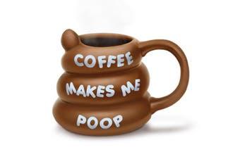 BigMouth Coffee Makes Me Poop Mug