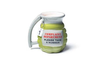 BigMouth Grenade Mug - Take A Number