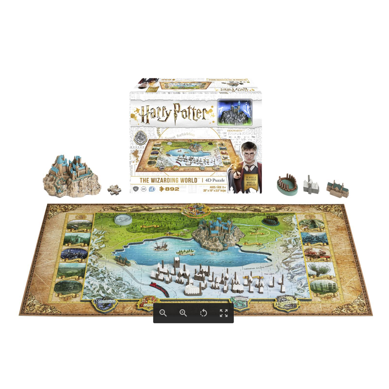 Paris 4D Cityscape Mini Puzzle 166 Piece
