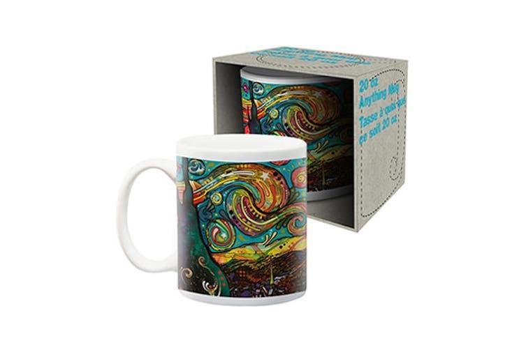 Dean Russo - Starry Night Jumbo Ceramic Mug