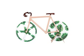 DOIY The Fixie Patterned Pizza Cutter - Tropical