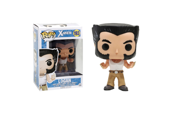 Wolverine -  Logan with Tank Top US Exclusive Pop! Vinyl Figure