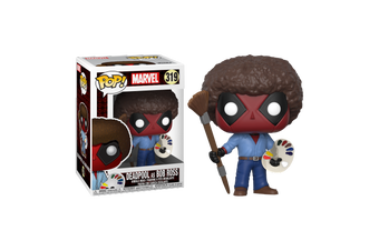 Deadpool - Playtime Bob Ross Pop! Vinyl Figure