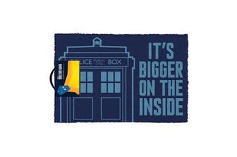 Doctor Who - It's Bigger On The Inside Doormat