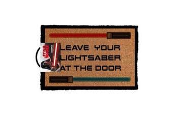 Star Wars Doormat - Leave Your Lightsaber At The Door