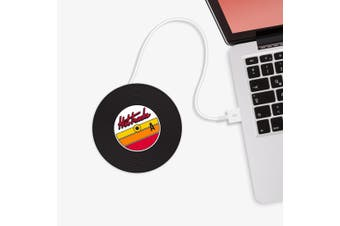 Mustard - Hot Tracks Vinyl Record USB Cup Warmer