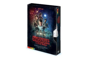 Stranger Things - VHS Premium A5 Notebook
