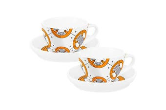 Star Wars BB-8 Tea Cup & Saucer - Set of 2