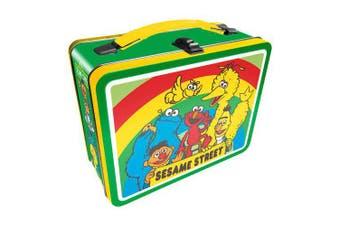 Sesame Street Cast Tin Fun Box