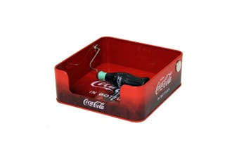 Coke Napkin Dispenser with Spin Bottle