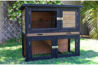 Brunswick Double Storey Hutch for Rabbits or Guinea Pigs