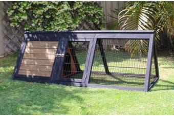 Brunswick Triangle Hutch for Rabbits or Guinea Pigs