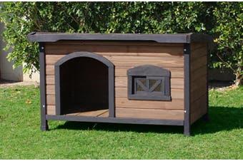 Brunswick Flat Roof Dog House (large)