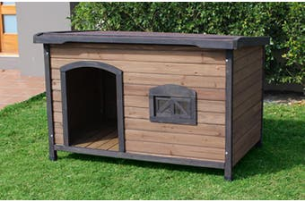 Brunswick Flat Roof Dog House (x-large)