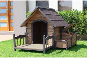 Brunswick A-Frame Kennel plus Accessories Pack x-large