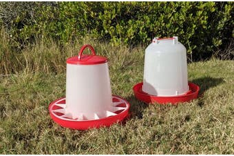 Chicken Large Feeder and Drinker Set