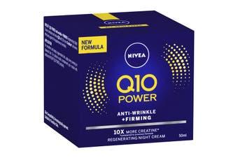 Nivea Q10 Plus Anti-Wrinkle Moisturising Night Cream 50ml
