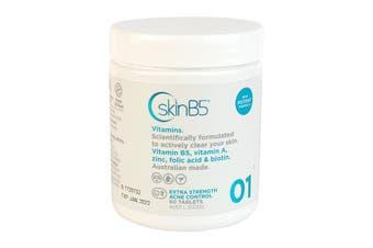 SkinB5 Extra Strength Acne Control Vitamins 60 Tablets