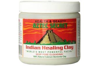 Aztec Secret 100% Natural Calcium Bentonite Clay Facial Clay 454g