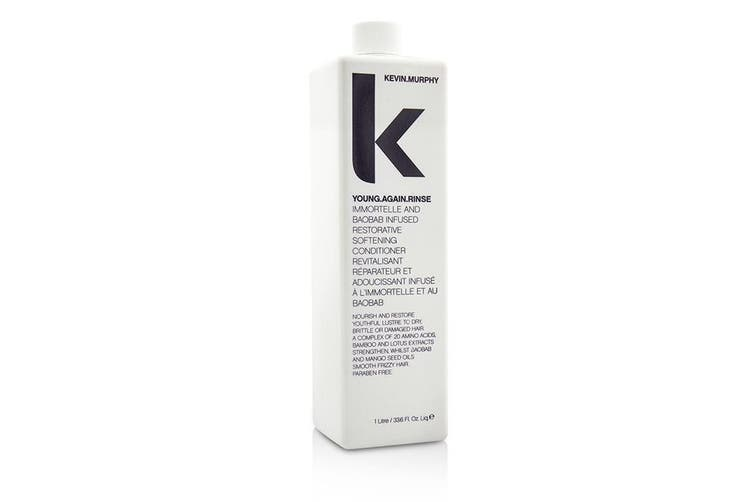 Kevin Murphy Young.Again.Rinse (Immortelle and Baobab Infused Restorative Softening Conditioner - To Dry, Brittle or Damaged Hair) 1000ml