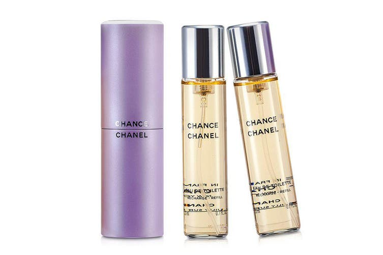 Chanel Chance Twist & Spray Eau De Toilette 3x20ml