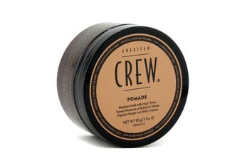 American Crew Men Pomade (Medium Hold with High Shine) 85g