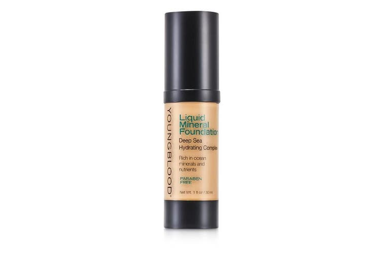 Youngblood Liquid Mineral Foundation - Pebble 30ml