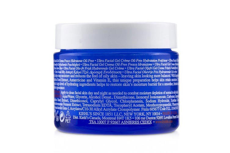 Kiehl's Ultra Facial Oil-Free Gel Cream - For Normal to Oily Skin Types 50ml