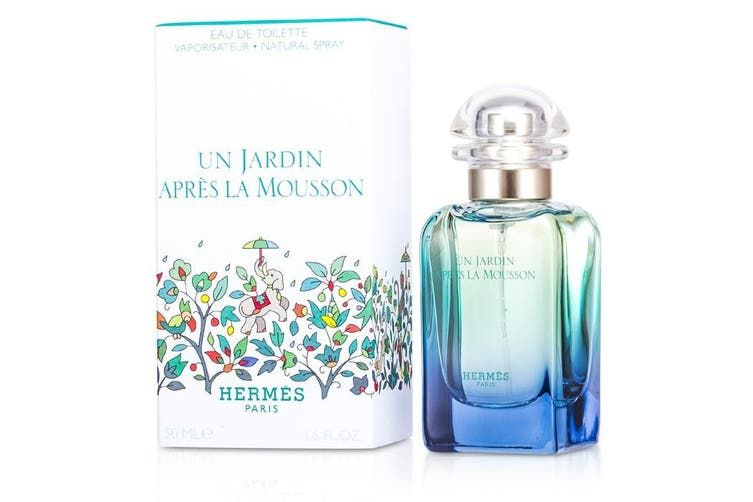 Hermes Un Jardin Apres La Mousson Eau De Toilette Spray (Unisex) 50ml