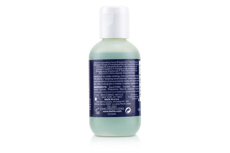 Kiehl's Facial Fuel Energizing Face Wash Gel Cleanser 75ml