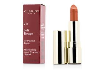 Clarins Joli Rouge (Long Wearing Moisturizing Lipstick) - # 711 Papaya 3.5g