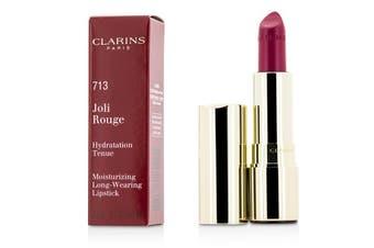 Clarins Joli Rouge (Long Wearing Moisturizing Lipstick) - # 713 Hot Pink 3.5g