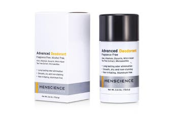 Menscience Advanced Deodorant - Fragrance Free 73.6g