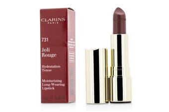 Clarins Joli Rouge (Long Wearing Moisturizing Lipstick) - # 731 Rose Berry 3.5g