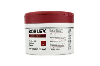 Bosley Professional Strength Healthy Hair Moisture Masque (For Dull and Dry Brittle Hair) 200g