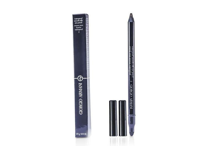 Giorgio Armani Waterproof Smooth Silk Eye Pencil - # 02 (Brown) 1.2g