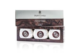 Truefitt & Hill Sandalwood Luxury Soap (Triple) 3x150g