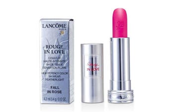 Lancome Rouge In Love Lipstick - # 343B Fall In Rose 4.2ml