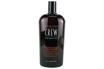 American Crew Men Power Cleanser Style Remover Daily Shampoo (For All Types of Hair) 1000ml