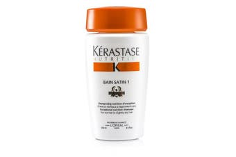 Kerastase Nutritive Bain Satin 1 Exceptional Nutrition Shampoo (For Normal to Slightly Dry Hair) 250ml