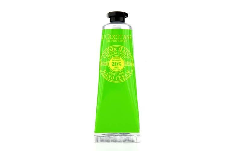 L'Occitane Shea Butter Zesty Lime Hand Cream 30ml