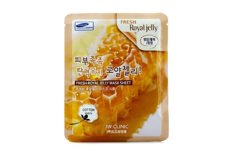 3W Clinic Mask Sheet - Fresh Royal Jelly 10pcs