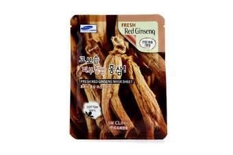 3W Clinic Mask Sheet - Fresh Red Ginseng 10pcs