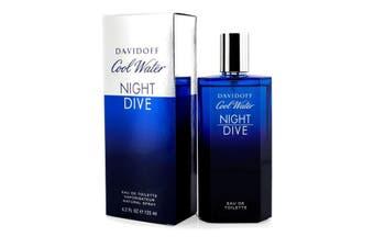 Davidoff Cool Water Night Dive Eau De Toilette Spray 125ml