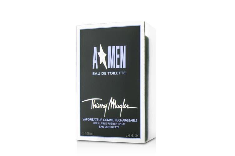 Thierry Mugler (Mugler) A*Men Gomme Rubber Flask Eau De Toilette Refillable Spray 100ml