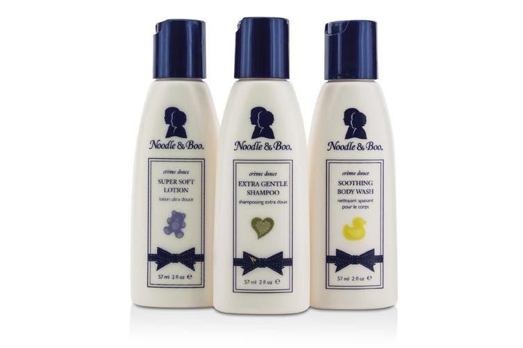 Noodle & Boo Essential Care Kit: Body Wash 59ml + Shampoo 59ml + Lotion 59ml 3pcs