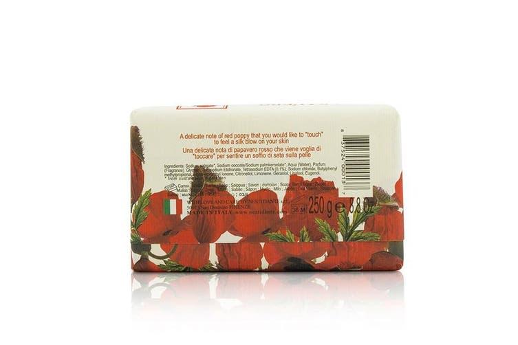 Nesti Dante Dei Colli Fiorentini Triple Milled Vegetal Soap - Poppy 250g