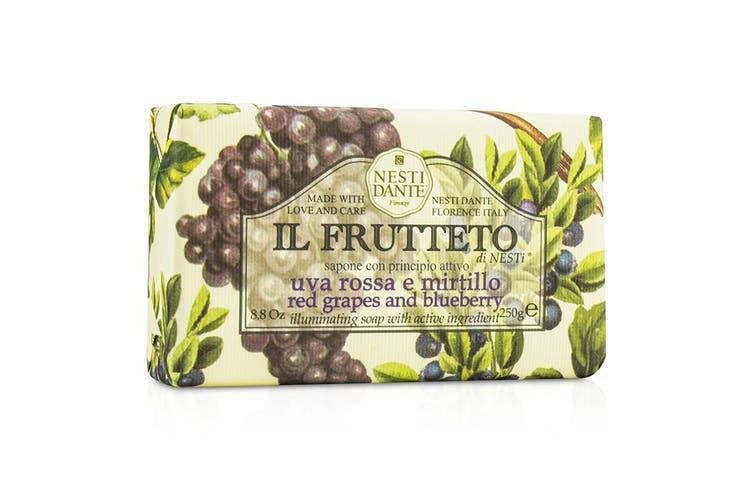 Nesti Dante Il Frutteto Illuminating Soap - Red Grapes & Blueberry 250g